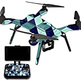 MightySkins Protective Vinyl Skin Decal for 3DR Solo Drone Quadcopter wrap cover sticker skins Geo Tile