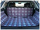 Cargo Cover Pet Car Protector Waterproof (Plaid)