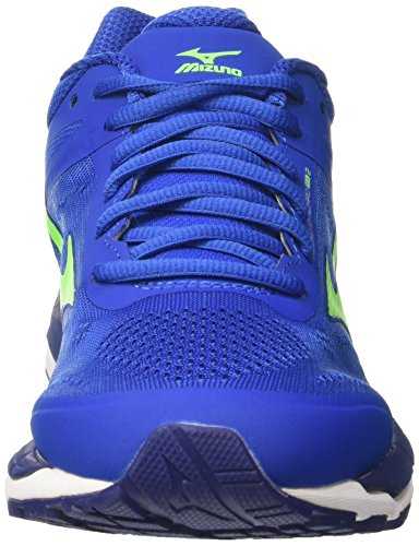 Mizuno Men's Synchro Mx Running Shoes Multicolore (Nauticalblue/Greengecko/Bluedepths) 6rpxHEWO3
