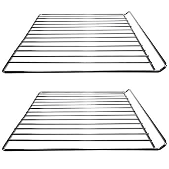 First4spares 2 X Chrome Oven Wire Shelves For Cata Cooke Lewis Universal Cookers 33 X 42cm