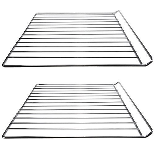 First4Spares 2 x Chrome Oven Wire Shelves For Cata / Cooke & Lewis / Universal Cookers (33 x 42cm)