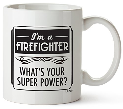 Valentines day Gifts For Firefighter Women Men Birthday Unique San Valentine present Funny Cool Gift Boyfriend Girlfriend Wife Daughter Mom Dad Firefighters Appreciation Graduation Gag Novelty Cup Mug (Valentine San Candy)