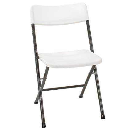 4 Pack Folding Chairs.Cosco Resin Folding Chair With Molded Seat And Back 4 Pack White Pewter