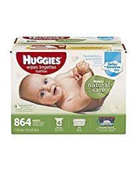 Huggies Natural Care Baby Wipes 864 ct. Triple Clean, Fragrance & Alcohol Free! BOBEBE Online Baby Store From New York to Miami and Los Angeles