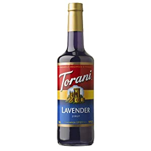 Torani Syrup Lavender 750 ml