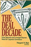 The Deal Decade Handbook, Blair, Margaret M. and Uppal, Girish, 0815709439