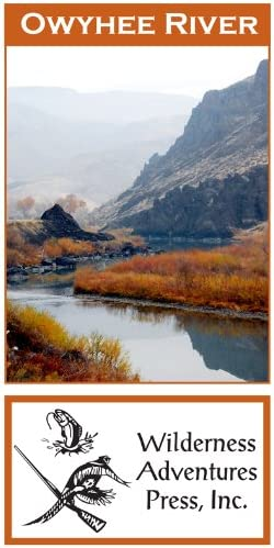 Amazon Com Owyhee River 11x17 Fly Fishing Map Fishing Charts And Maps Sports Outdoors