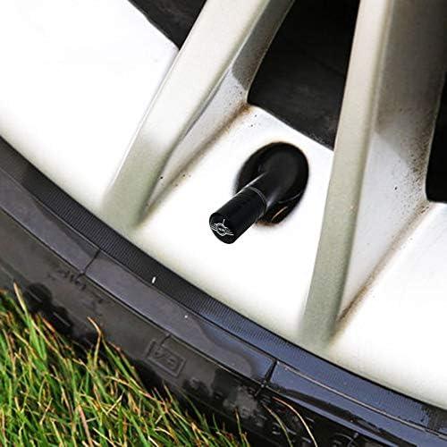 Lot de 4 enjoliveurs de valve pour Mini Cooper One S R50 R53 R56 R60 F55 F56