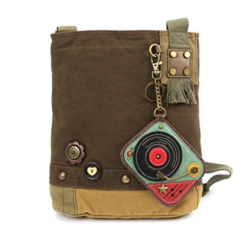 Turntable Messenger Bag - 8