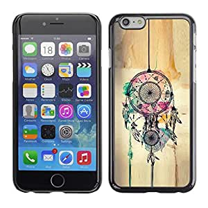 Planetar® ( Catcher Art Hipster Indian ) Apple (5.5 inches!!!) iPhone 6+ Plus / 6S+ Plus Fundas Cover Cubre Hard Case Cover