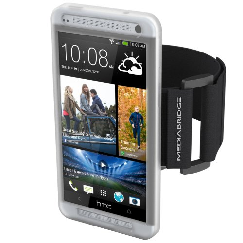 for HTC One M7 ( Clear ) - Model AB1 (Part# AB1-HTC1-CLEAR ) ()
