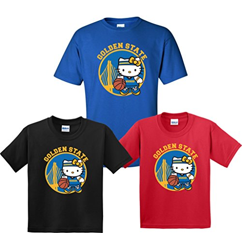 Review Hello Kitty Basketball Team New Design Tshirts Youth & Adults! S AdultGray