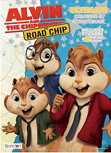BENDON Alvin and the Chipmunks The Road Chip Ultimate Col...