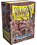 Dragon Shield 100 Protector Sleeves + Box Fusion - Magic: The Gathering Deck