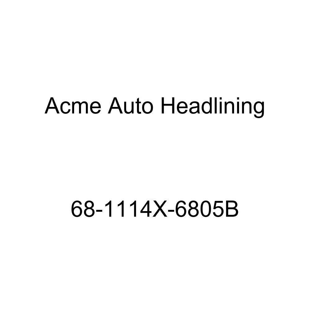 Buick Wildcat 4 Dr Hardtop w//Original Board Headliner Acme Auto Headlining 68-1114X-6805B Medium Blue Replacement Headliner Conversion