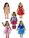 Clothing Accessories Best Deals - 5PC Lots Doll Clothes for 18