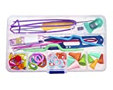 Seawhisper Knitting Accessories Storage Case Knitting Stitch Holders Knitting Stitch Counter
