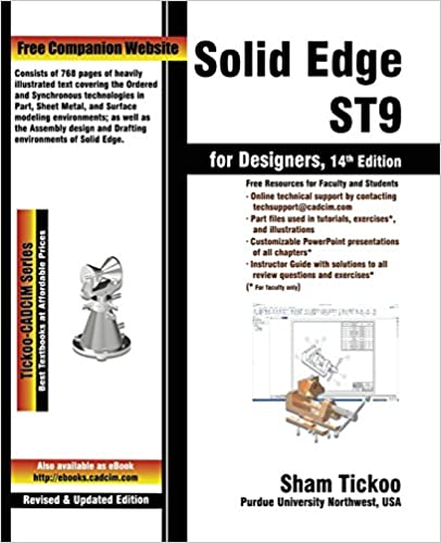 Book Solid Edge ST9 for Designers
