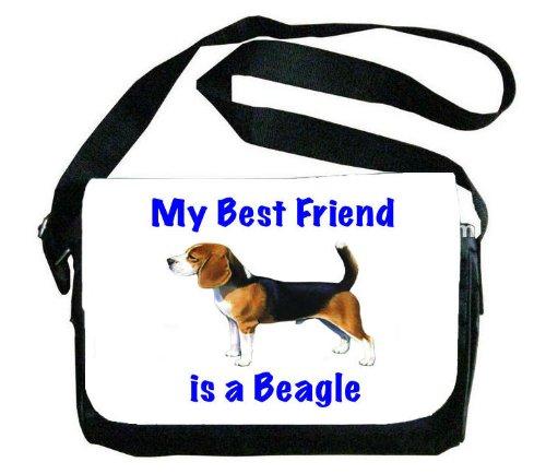 My Best Friend isビーグルメッセンジャーバッグ B00EXC12Z8