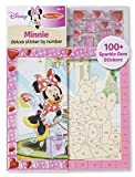 Melissa & Doug Disney Minnie Mouse and Daisy Duck Deluxe Sticker by Number Activity Kit
