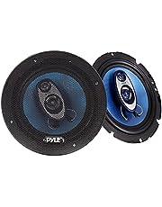Pyle PL63BL 6.5-Inch 360W 3-Way Speakers Pair