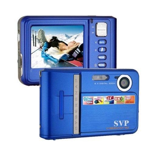 SVP NEW 9MP Blue Digital Camera+ Video Recorder+8X Zoom~ UltraSlim