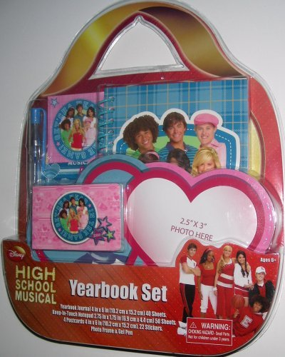 High School Musical Yearbook Set