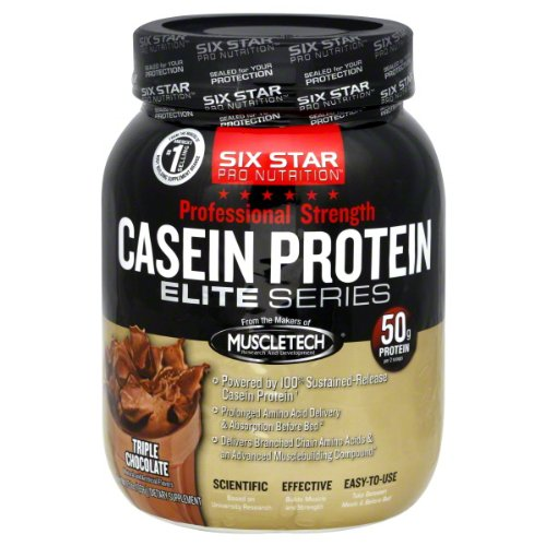 Six Star Pro Nutrition protéine caséine Elite Series Triple Chocolat - £ 1,5