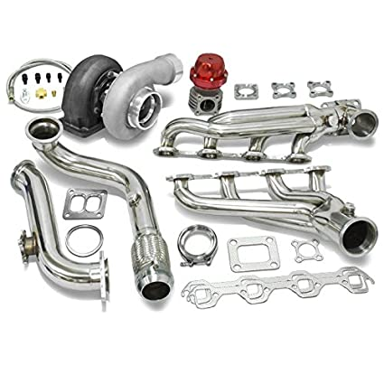 High Performance Upgrade GT45 T4 5pc Turbo Kit - Ford Mustang 5.0L V8