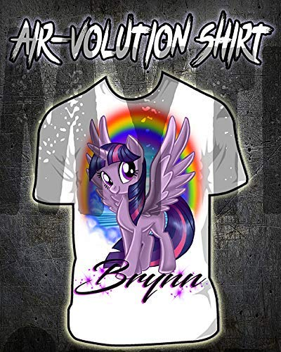 Personalized Airbrush My Little Pony Twilight Sparkle Shirt