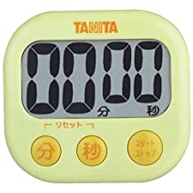 Yellow TD-384-YL is visible or in TANITA digital timer (japan import)