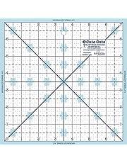 """Riley Blake Designs Lori Holt Trim It Ruler 7.5"""" Square (STTI-21863)"""