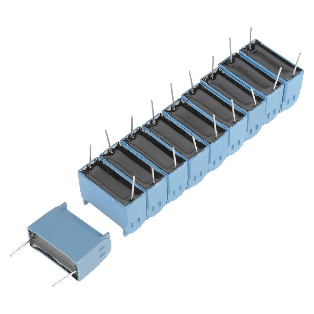 Condensatore radiale al piombo per fornello a induzione 10 pezzi per fornelli a induzione Inverter 0.33uF 630 V CA 1200 V CC