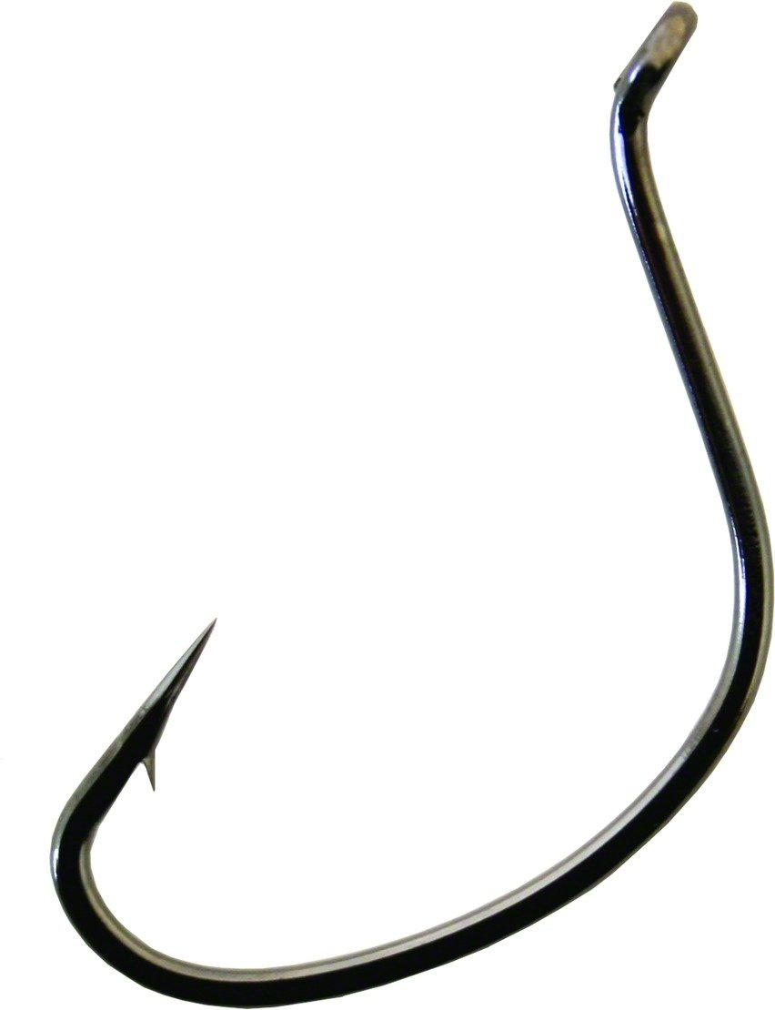 Gamakatsu Wacky Hook Finesse Wide Gap NS Black Choose Many Sizes Free Shipping