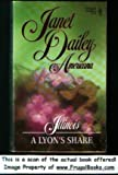 A Lyon's Share, Janet Dailey, 0373898630