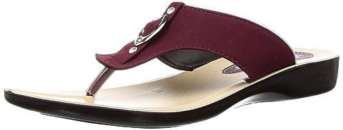 Buy PARAGON SOLEA Women's Maroon Flip