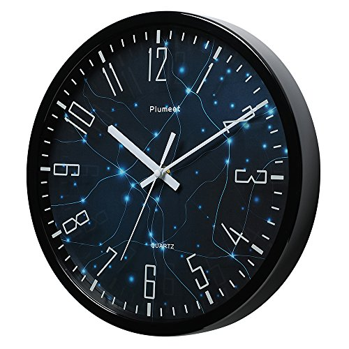 Plumeet 12 Silent Wall Clock With Special Design And Non