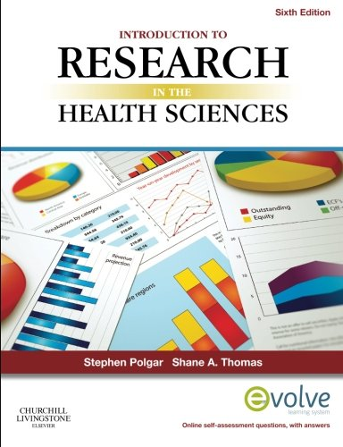 Introduction To Research In The Health Sciences  6E