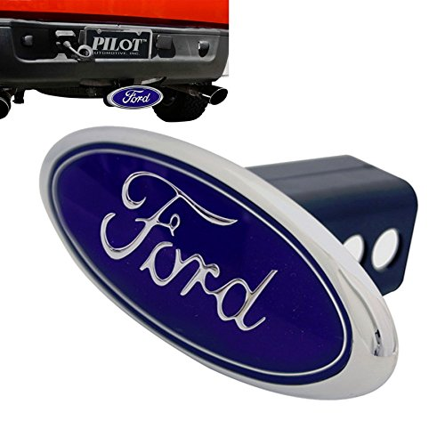 """P.A Ford Logo 1.25"""" and 2"""" Trailer Towing Hitch Receiver Cov"""