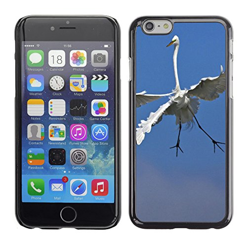 Premio Sottile Slim Cassa Custodia Case Cover Shell // V00003627  aigrettes combats // Apple iPhone 6 6S 6G 4.7""
