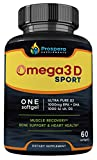 Cheap Prospera Omega 3 and Vitamin D Combo. 2000mg of Omega EPA & DHA Fish Oil Plus 2000 IU of Vitamin D3 in JUST 2 Capsules | Heart, Bone & Immune Health. Joint Inflammation. 60 Count