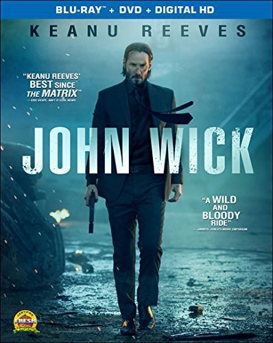 Blu-ray : John Wick (With DVD, 2 Disc)