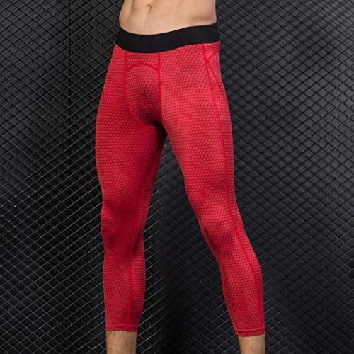 3D De En Hombre para Hombres Estampado Mitlfuny Minutos Slim Running Pantalones Chándal para De Rot Ropa con De Pantalones ADELINA Siete fxT6q6