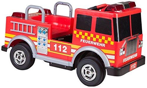 Kinder Elektroauto Feuerwehr - Besttoy Elektro Kinderauto Feuerwehr