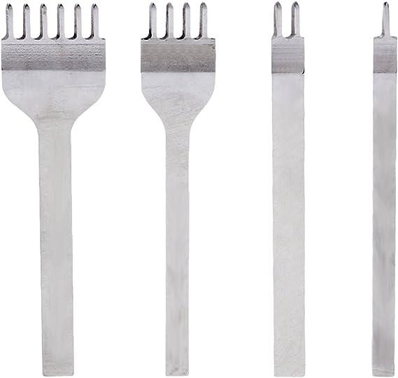 Leder Handwerk Stanze Werkzeug Kit Hohl DIY Legierung Profession Basteln