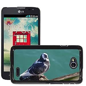 Etui Housse Coque de Protection Cover Rigide pour // M00135303 Paloma Pájaro de la fauna del océano // LG Optimus L70 MS323