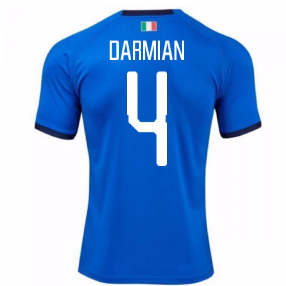 2018-19  Home Football Soccer T-Shirt Trikot (Matteo Darmian 4) - Kids