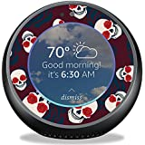 MightySkins Skin for Amazon Echo Spot - Skulls N Roses | Protective, Durable, and Unique Vinyl Decal wrap Cover | Easy to Apply, Remove, and Change Styles | Made in The USA