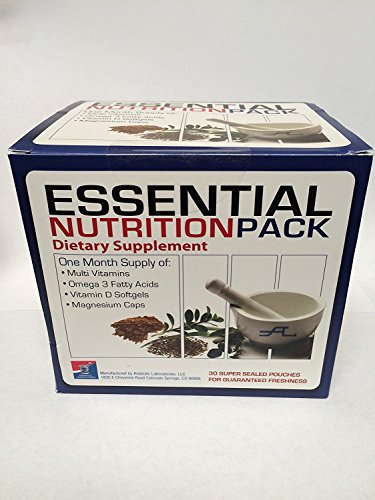 Anabolic Laboratories Essential Nutrition Pack – 30 Multi-packs