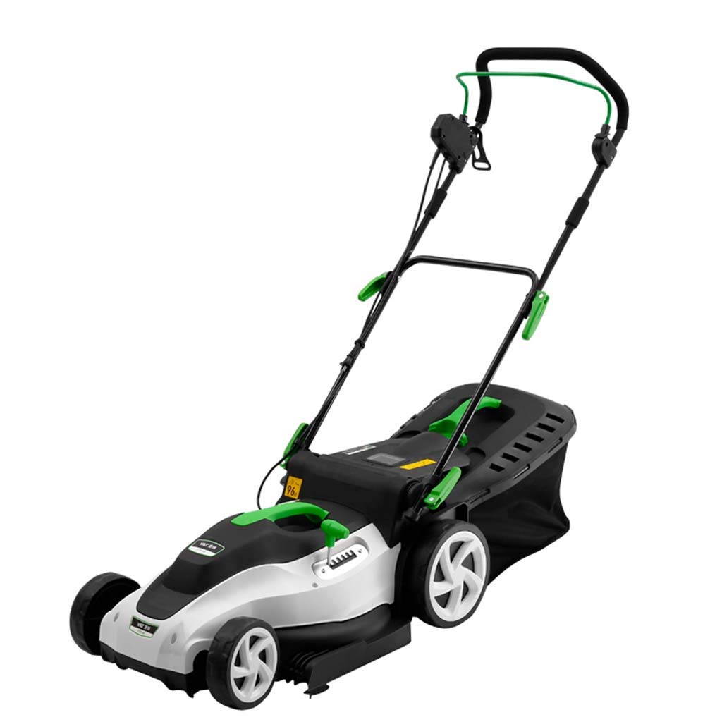 WHJ@ 1800w Hand Push Electric Lawn Mower Home Lawn Machine Small Weeder Trimmer Lawn Mower by ZM-Lawn mower